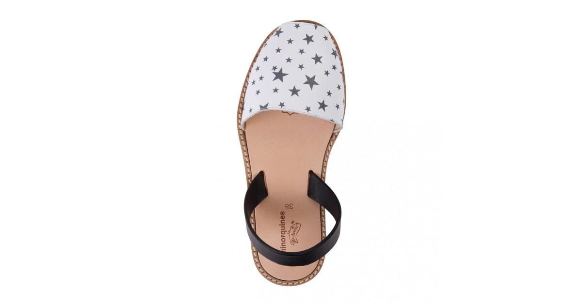 Avarca Leather Stars