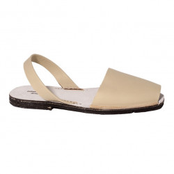 Avarca Authentic Heel Natural