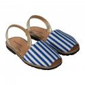 Avarca Blue Stripes