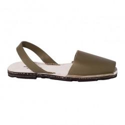 Avarca Authentic Heel Khaki