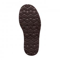 Avarca Leather Salmon Polka Dots