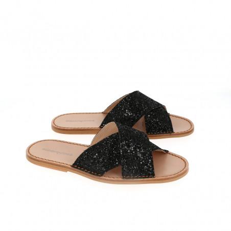 Avarca Neo 7 Glitter Negro