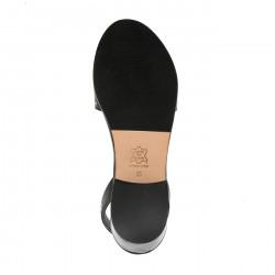 Avarca Alto 1 Leather Negro