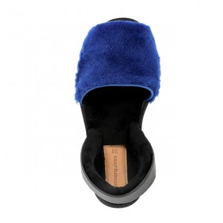 Avarca Mouton Alaska Bleu