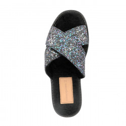 Mules Glitter North Pole