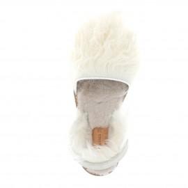 Avarca Mouton Mongolia Blanco