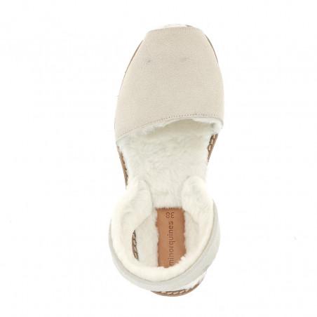 Avarca Sheepskin Off-White