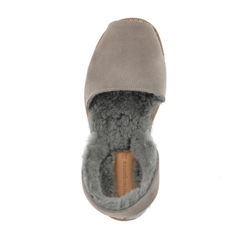 Avarca Sheepskin Grey
