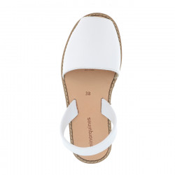 Avarca Leather Blanco
