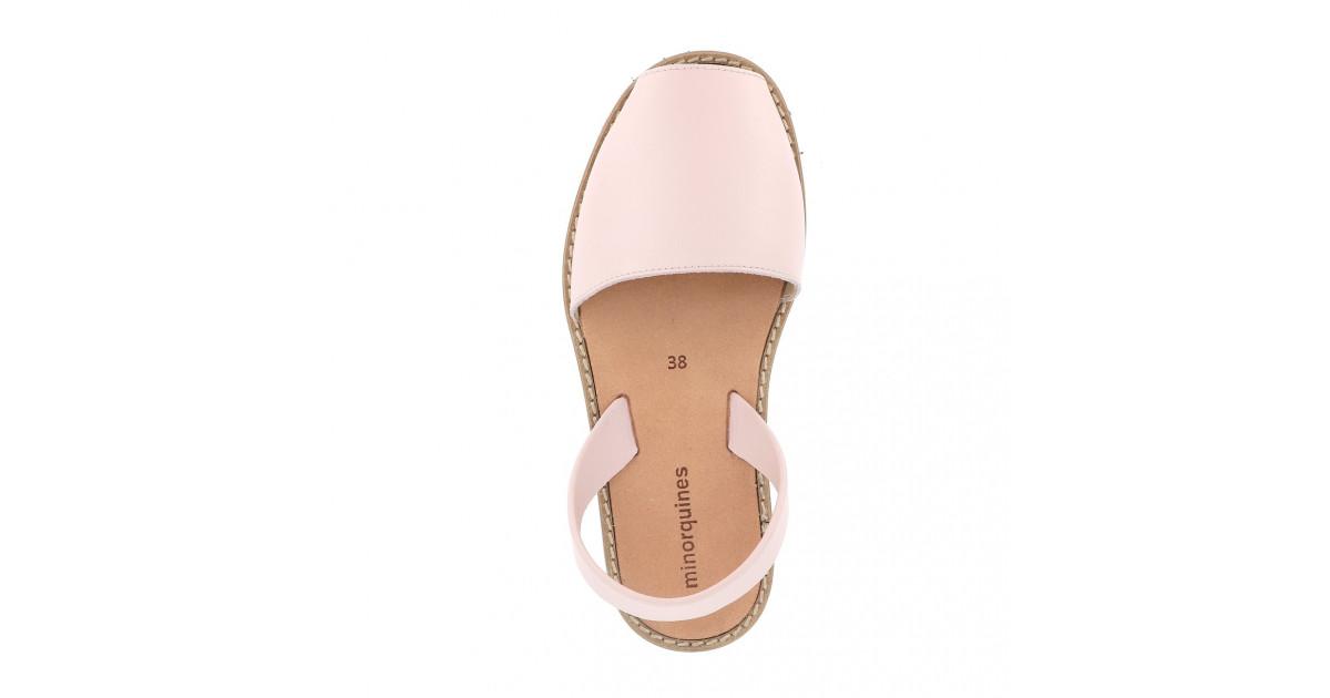 Avarca Leather Pink