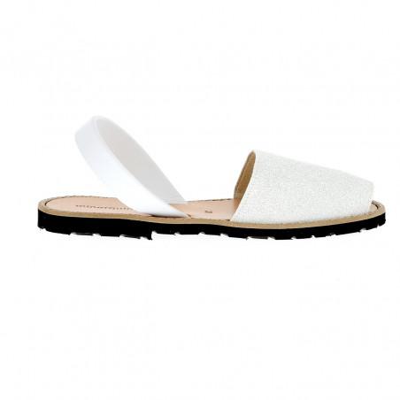 Avarca Glitter White N°24