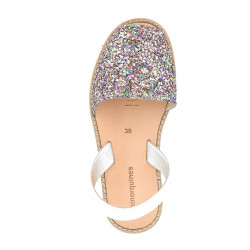 Avarca Paillettes Multicolores