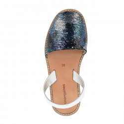 Avarca Sequins Camouflage Blue