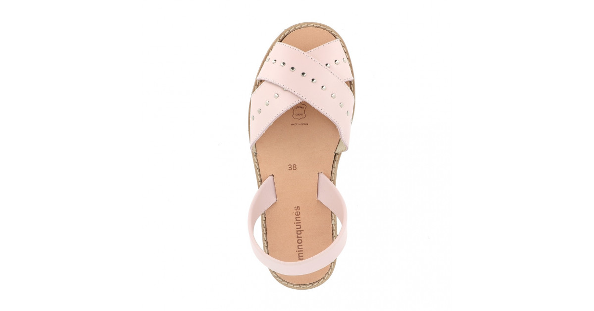 Avarca Rock Leather Pink