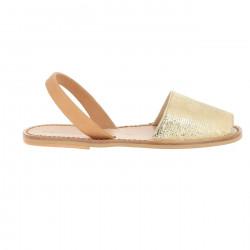 Avarca Neo Shiny Leather Gold