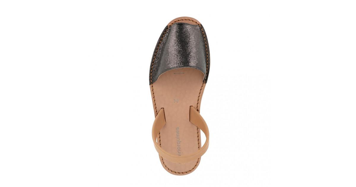 Avarca Neo Shiny Leather Negro