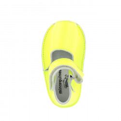 Frailera Baby Leather Neon Amarillo