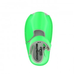 Frailera Baby Leather Neon Verde