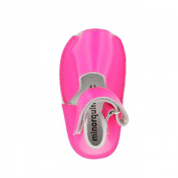 Frailera Baby Leather Neon Fuchsia