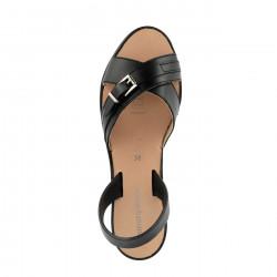 Avarca Alto 3 Leather Negro