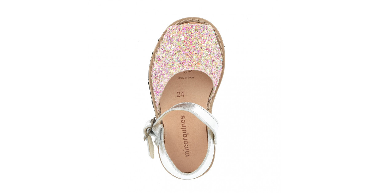 Frailera Buckle Glitter Sunny Pink