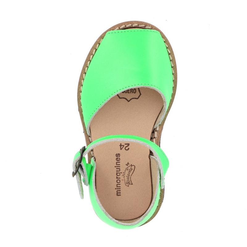 Frailera Boucle Fluo Verde