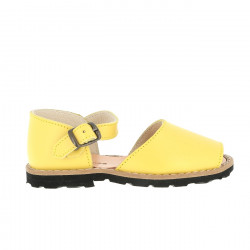 Frailera Buckle Leather Limon