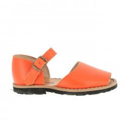 Frailera Buckle Leather Naranja