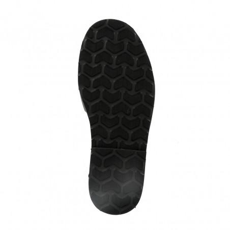 Avarca Platja Leather Negro