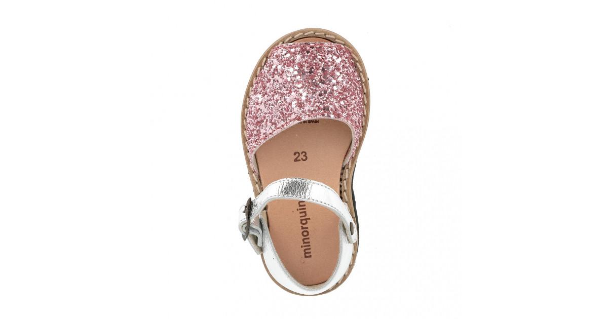 Frailera Buckle Glitter Pink