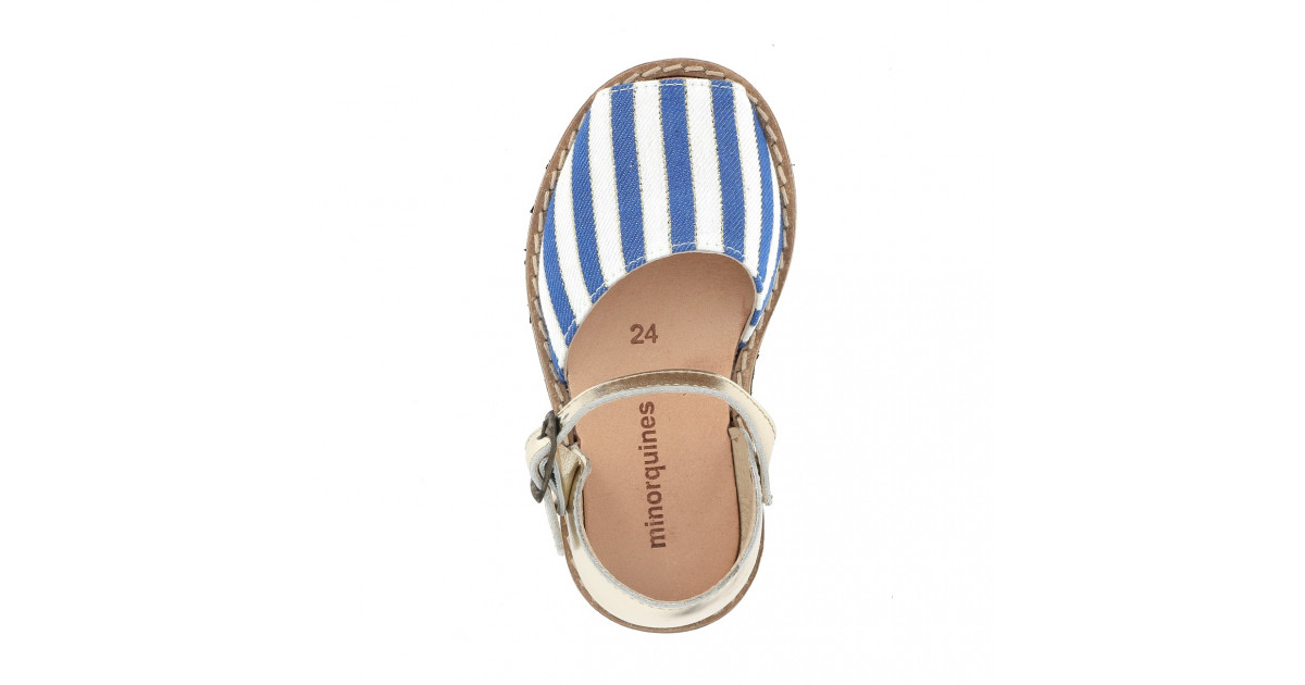 Frailera Buckle Blue Stripes