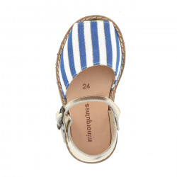 Frailera Buckle Blue Stripes