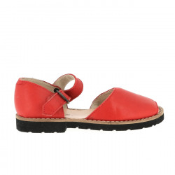Frailera Boucle Velvet Rosso
