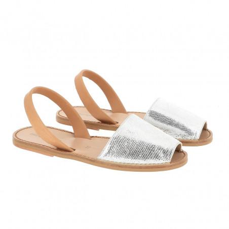 Avarca Neo Shiny Leather Blanco