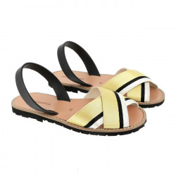 Avarca Rafel Galon Yellow/Negro