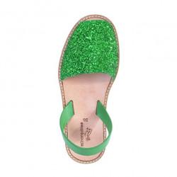Avarca Paillettes Verde