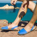 Avarca Nubuck Bleu Ocean