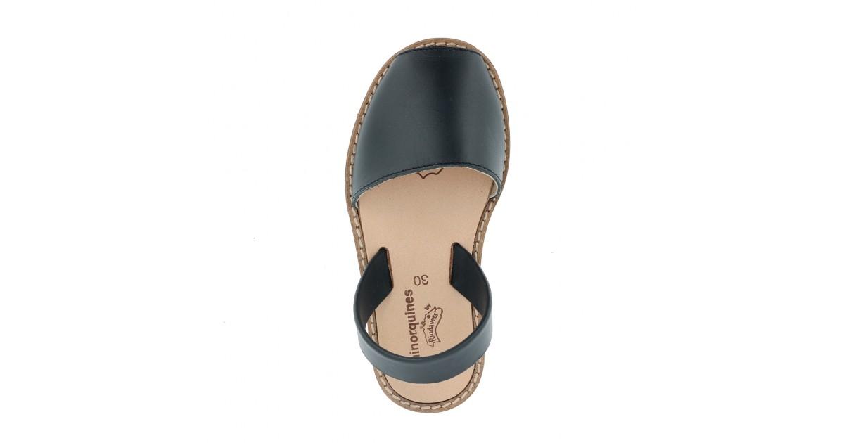 Avarca Leather Azul