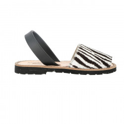 Avarca Leather Zebra