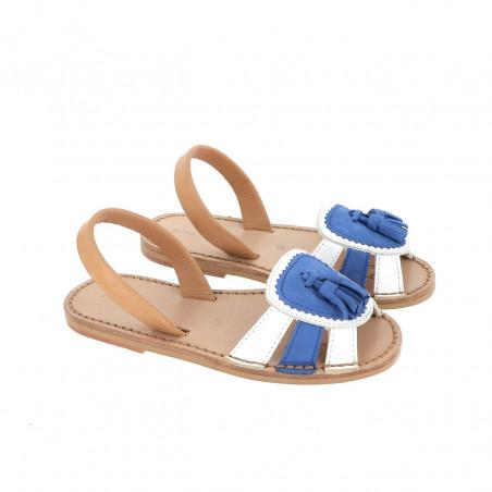 Avarca Neo 2 Blanco & Bleu Ocean