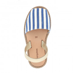 Avarca Blue Stripes