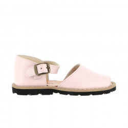 Frailera Buckle Leather Pink
