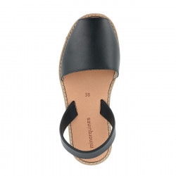 Avarca Leather Azul Marinero