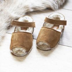 Frailera Baby Sheepskin Brown Merino