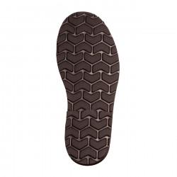 Avarca Buckle Leather Negro
