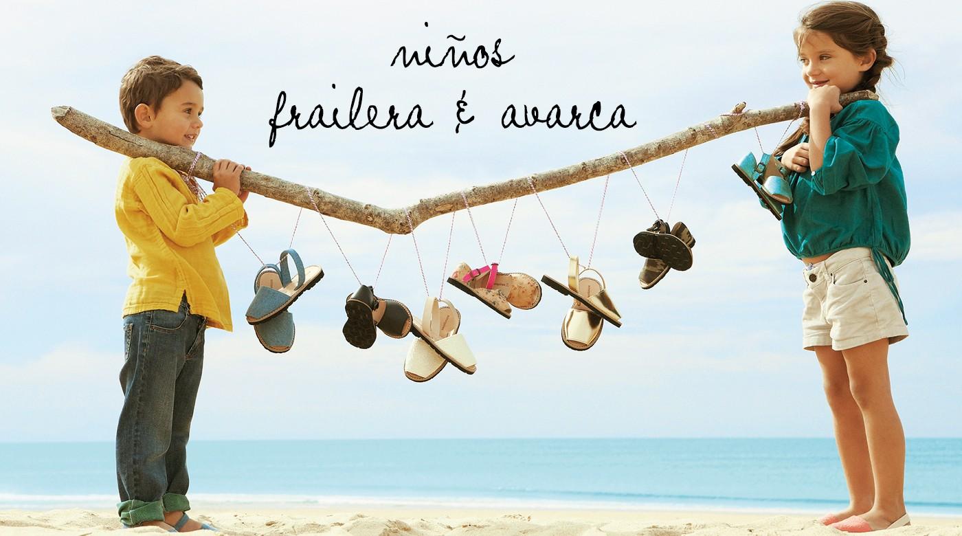 Avarca/ Frailera Ninos